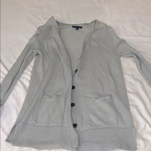 Gray American Eagle cardigan